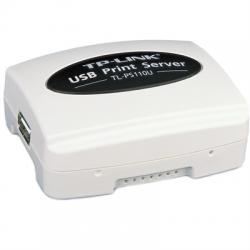 TP-LINK TL-PS110U Print Server Ethernet USB - Imagen 1