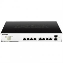 D-Link DGS-1100-10MP Switch 8xGB PoE+ 2xSFP