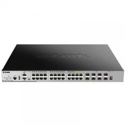 D-Link DGS-3630-28PC Switch L3 20xGB PoE 4xSFP