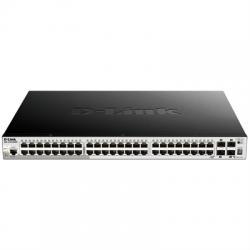 D-Link DGS-1510-52XMP Switch L2 52xGB PoE+ 4x10GB