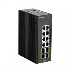 D-Link DIS-300G-12SW Switch Industrial 12xGB 4xSFP - Imagen 1