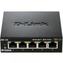 D-Link DGS-105 Switch 5xGB Metal