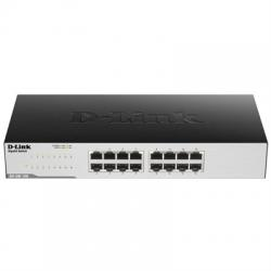 D-Link GO-SW-16G Switch 16xGB Metal