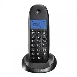 MOTOROLA C1001 LB+ Telefono DECT Negro - Imagen 1