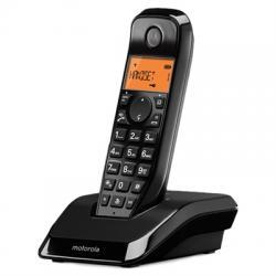 MOTOROLA S1201 Telefono DECT Negro - Imagen 1