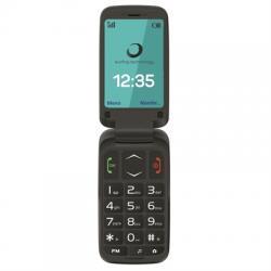 """Brigmton BTM-5FLIP Telefono Movil 2.4"""" SOS BT Negr"""