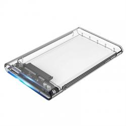 "CoolBox caja HDD 2.5""SCT-2533 USB3.0 transparente - Imagen 1"