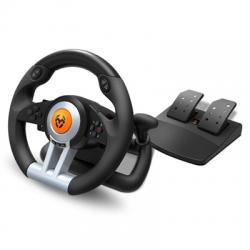 Krom Juego de Volante y pedales K-Wheel Multip. - Imagen 1