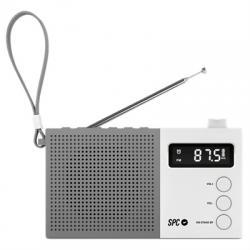 SPC Radio FM Jetty Max pantalla LCD Blanco - Imagen 1
