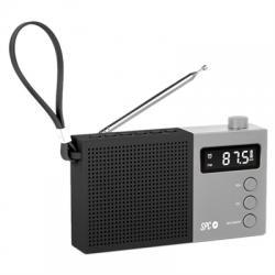 SPC Radio FM Jetty Max pantalla LCD Negro - Imagen 1
