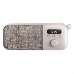 Energy Sistem Fabric Box FM Radio 3W 1200mAh Crema - Imagen 1