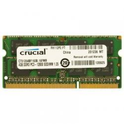 Crucial CT51264BF160B soDim 4GB DDR3L 1600MHz. - Imagen 1