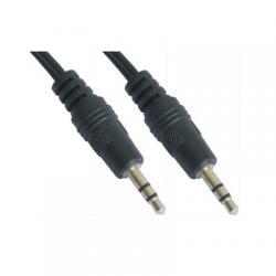 Nanocable Cable audio, Jack 3.5/M-M, negro, 5m - Imagen 1