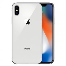 CKP iPhone X Semi Nuevo 64GB Plata - Imagen 1
