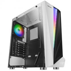 Mars Gaming Caja Atx MCL white dual glass  rgb