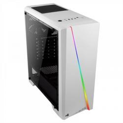 Aerocool Caja Semitorre CYLON RGB BLANCA USB3.0