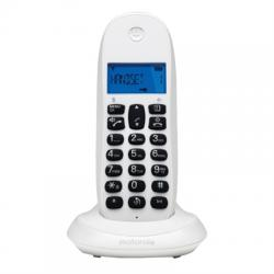 MOTOROLA C1001 LB+ Telefono DECT Blanco - Imagen 1