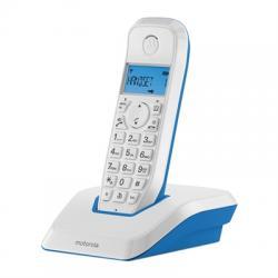 MOTOROLA S1201 Telefono DECT Azul - Imagen 1