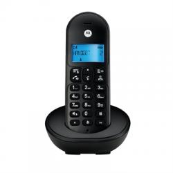 MOTOROLA T101 Telefono DECT Negro - Imagen 1
