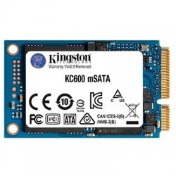 Kingston SKC600MS/256G SSD 256GB TLC 3D mSATA - Imagen 1