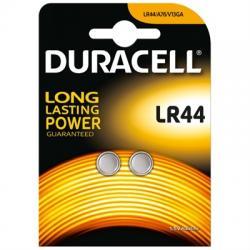 Duracell Pila Botón Alcalina LR44 1,5V Blister*2 - Imagen 1