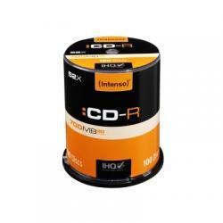 Intenso CD-R 700MB/80min tubo 100 unidades - Imagen 1