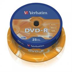 Verbatim DVD-R 4.7GB 16x Tarrina 25Uds - Imagen 1