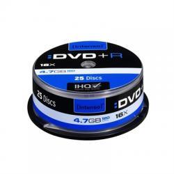 Intenso DVD+R 4.7GB 16x Tarrina 25Uds - Imagen 1