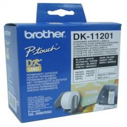 BROTHER Etiquetas Dirección 29x90mm QL550 - Imagen 1