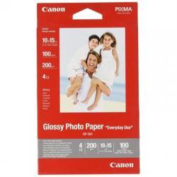 CANON Papel Glossy Photo 10x15(100hojas) - Imagen 1