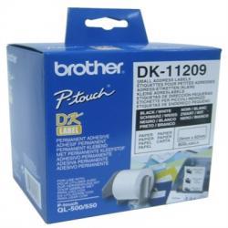 BROTHER Etiquetas Direcciones 62x29 Blancas - Imagen 1