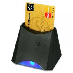 Active Key Lector smart card. USB Negro - Imagen 1