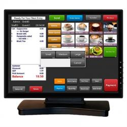 """VivaPos Monitor Táctil 17"""" T1705 LCD USB Negro - Imagen 1"""