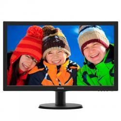 "Philips 193V5LSB2 Monitor 18.5"" LED  16:9 5ms VGA - Imagen 1"