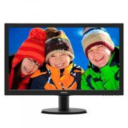 "Philips 243V5LHSB Monitor 24"" Led 16:9 VGA DVI HDM - Imagen 1"