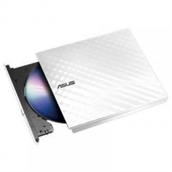 Asus DVD-RW SDRW-08D2S-U Slim Blanca USB 13mm - Imagen 1