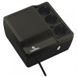 CoolBox SAI Scudo 600 negro (600VA) - Imagen 1