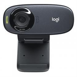 Logitech C310 WebCam HD 720p 5Mpx USB negro - Imagen 1