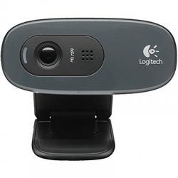 Logitech C270 WebCam HD 720p 3Mpx USB Negra - Imagen 1