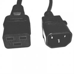 Salicru Cable salida IEC C14/C19 1,8m 10A - Imagen 1