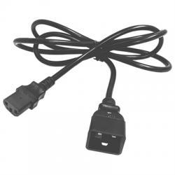 Salicru  Cable salida IEC C13/C20 1,8m 10A - Imagen 1