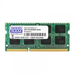 Goodram 4GB DDR3 1600MHz CL11 1,35V SR SODIMM - Imagen 1