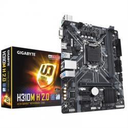 Gigabyte Placa Base H310M H 2.0 mATX 1151 - Imagen 1