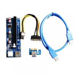 Tarjeta Riser Card AC330 PCI-E 1X a 16X Ver. 2.0 - Imagen 1