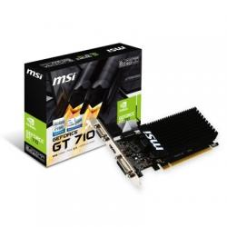 MSI VGA NVIDIA GT 710 2GD3H LP 2GB DDR3 - Imagen 1