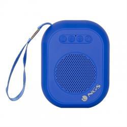 NGS Altavoz Portátil BT DE3W SD/RADIO FM /USB  Azu - Imagen 1