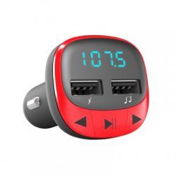 Energy sistem Car Transmitter FM Red (microSD,MP3) - Imagen 1