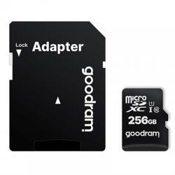 Goodram M1AA Micro SD C10 256GB c/adap